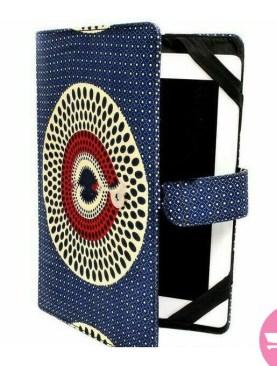 Kitenge Pad Case - Blue