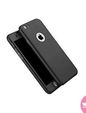 360 Degree Full Body Protection Case For iPhone 6plus/6s Plus - Black