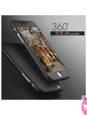Premium All Around 360 Case For iPhone 6 Plus, 6s+ - Black