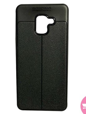 Back Cover Case For Galaxy A7 2018 - Black