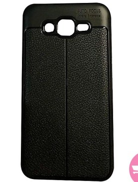 Back Cover Case For Galaxy J7 - Black