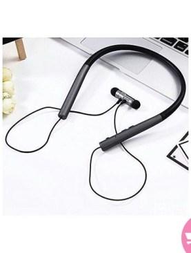 BT Earphone Bluetooth Sport Earhook Earbuds Stereo Over-Ear Wireless Neckband Headset - Black