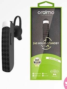 Oraimo OEB- E35s Elite Bluetooth Headset - Black