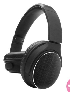 MS-K11-Deep Bass Bluetooth Headphone with FM - Black