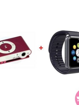 A1 Bluetooth Smart Watch Black Plus A Free Mp3 - Black,White,Maroon.