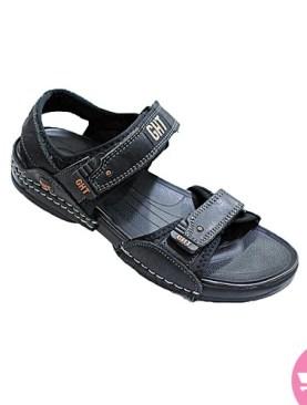 Men's Velcro Sandals - black