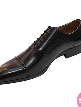 Men's gentle tassel shoes - black