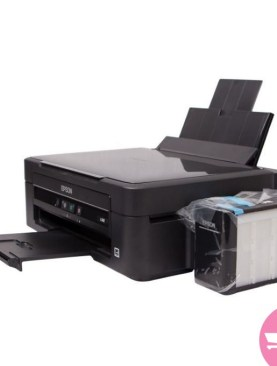 Epson L382 All-in-One Multi-Functional (Print Scan Photocopy) Printer + Free USB Printer Cable - Black