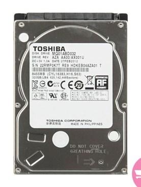 Internal Hard Drive For Laptop - 320GB - Sliver