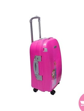 Waterproof Suitcase- Medium - Pink
