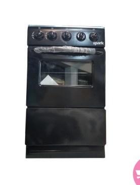 Spark 50*50, Full Gas + Oven P5040G-B - Black