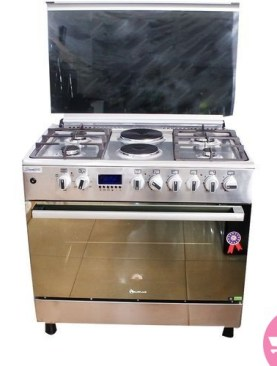 BLUEFLAME Electric Cooker Plus Oven E9042FER- NOX - Silver