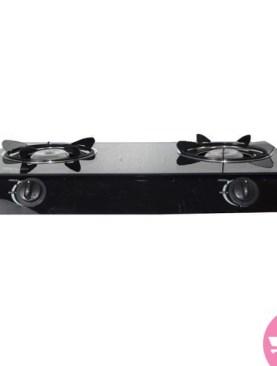 Electro Master GGS3009 2 Burner Glass Gas Stove