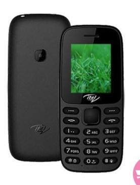Itel 2171 Dual SIM Phone - Black