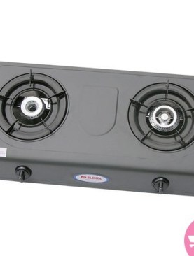 EGS-25N Elekta Double Burner Stainless Auto Ignition