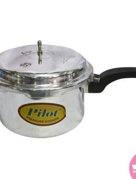 10 Ltrs Pilot Pressure Cooker - Silver
