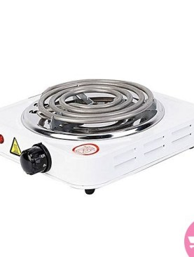 Single Electric Hot Plate- JX-1010B - White