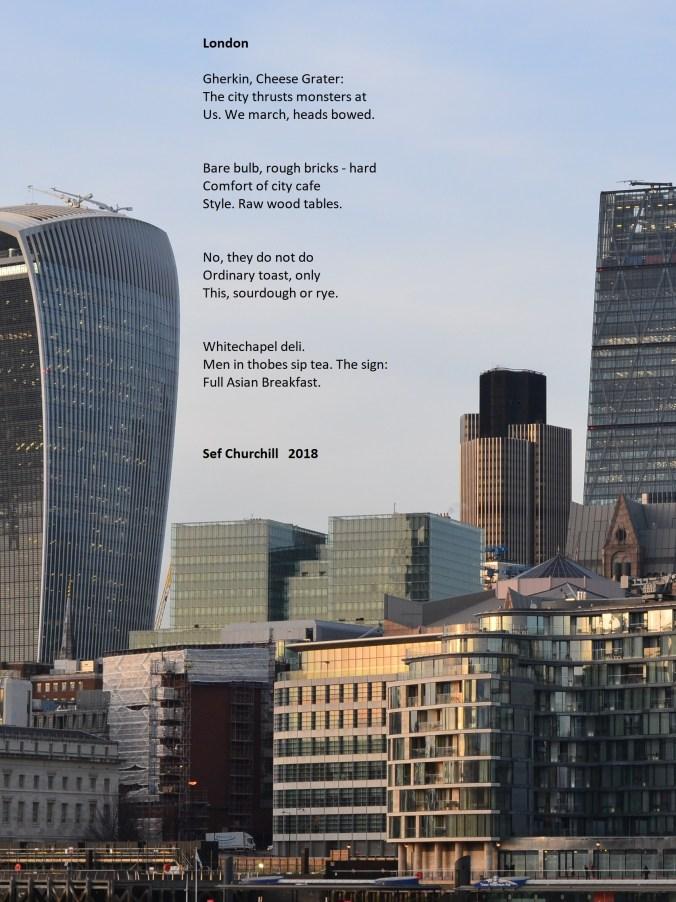 London Haiku Sef Churchill