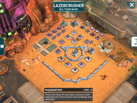 Lazercrusher