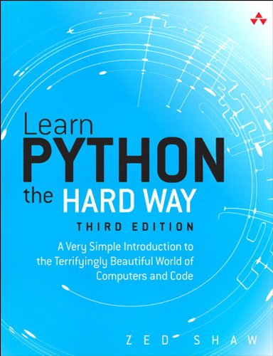 Learn Python The Hard Way, by Zed A. Shaw