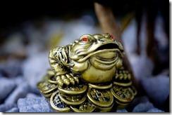 grenouille feng-shui