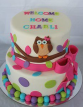 Baykuşlu Pasta 1