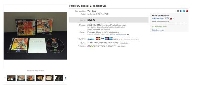 fatal fury special cd