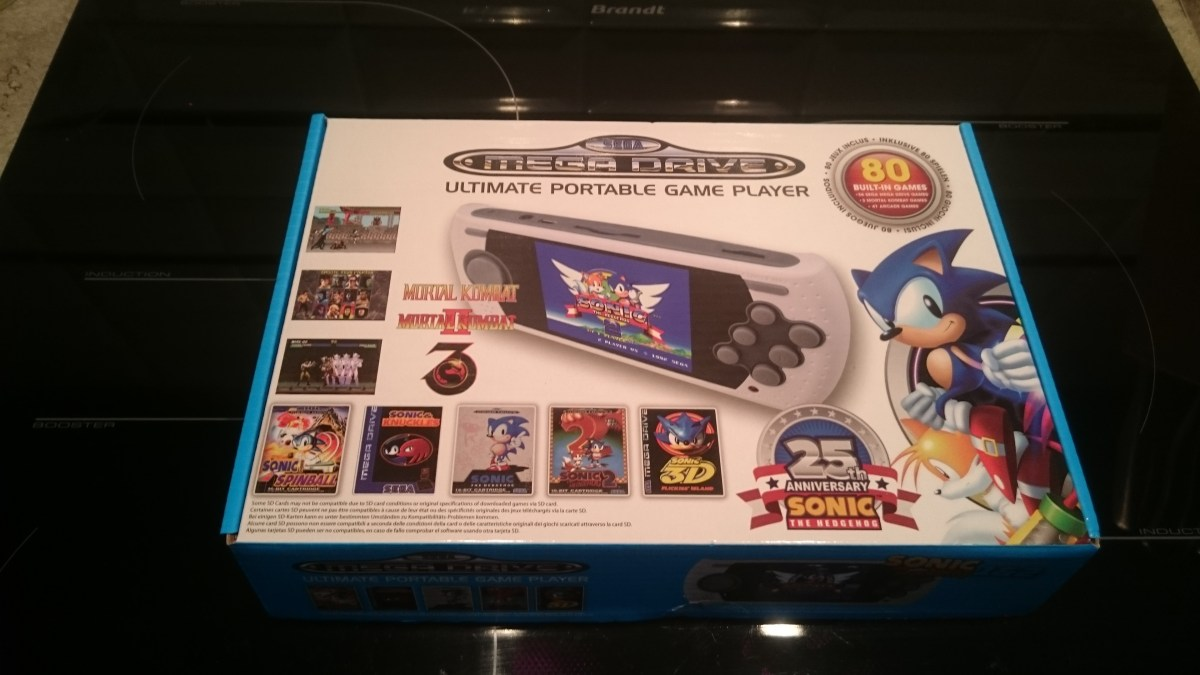 """AT Games Mega Drive : The """"Ultimate portable game playeur """" Heu…Vraiment?!"""