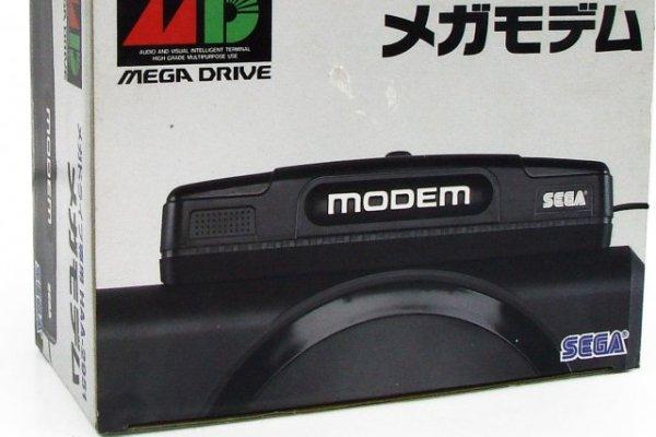 The Sega Mega Modem