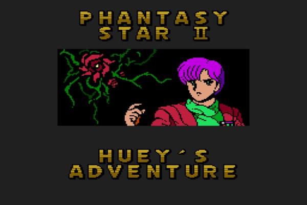 Phantasy Star II: Huey's Adventure (Mega Drive, 1991)