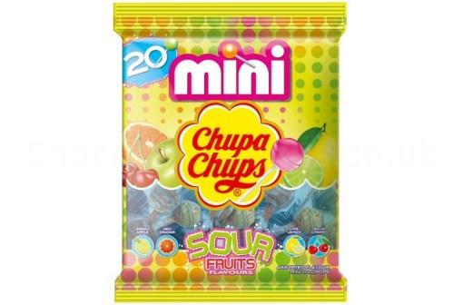 Chupa Chups Mini Sour 20-pack