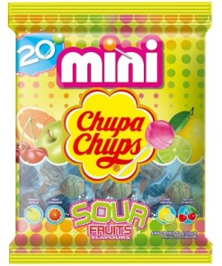 Chupa Chups Mini Sour 20-pack