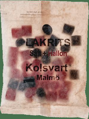 Kolsvart Salt och Hallon