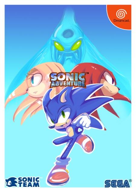 Sonic Adventure by Xibalba Piixan