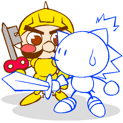 Sonic the Sketchog and Clockwork Knight by Shinogo