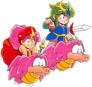 Wonder Boy - Monster Lair Art