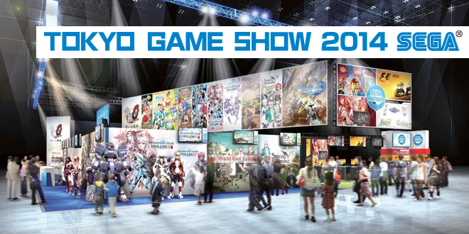 SEGA Tokyo Game Show 2014