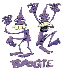 Watch out for the Boogie man!