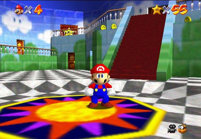 Despite what some people might think, Mario 64 sucks.