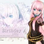 Proyect Diva X Luka birthday wallpaper