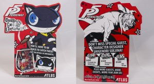 Atlus has also revealed its E3 badge for this year.