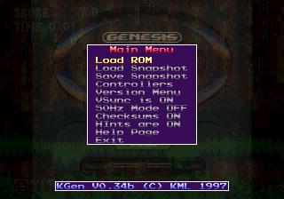 KGen Sega Retro