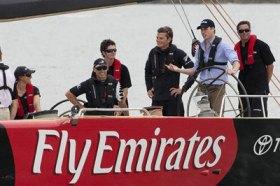 Prinz William segelte im Januar 2010 mit dem Team New Zewaland in Auckland. © TNZ