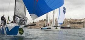 """""""Rockall III"""" als Spezialist für die Langstrecke versucht sich nun auch erfolgreich an Up and Downs (hier beim Middle Sea Race) © Kurt Arigo/Rolex"""