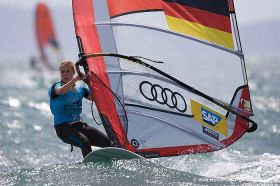 Moana Delle hart sich besonders im Starkwindbereich verbessert.  © JM Liot / DPPI / FFvoile