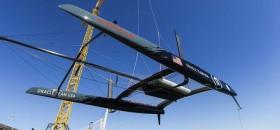 Auch Oracle Racing vertraut auf Flügel an Schwert und Ruder. ©  Guilain Grenier / Oracle Team USA