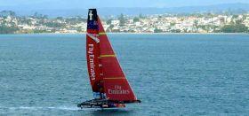 Die Kiwis fliegen vor Auckland schon auf ihren Flügeln. © Flying Dutchies