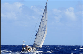 Die 45''-Sweden-Yacht Ciao sank for den australischen Cocos-Islands © World ARC