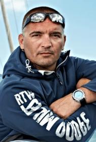Der Pole Zbigniew « Gutek » Gutkowski schrieb sich zuletzt ein © Vincent Curutchet/vendée globe