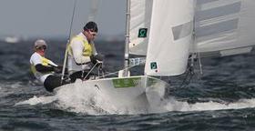 Nach Kieler Woche-Sieg auch Internationale Deutsche Meister im Starboot: Johannes Polgar und Marcus Koy. Foto: ok-press
